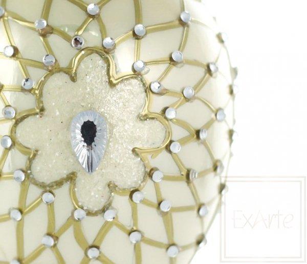 Jajko 13cm - Diamentowy kwiat