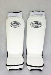 Nagolenniki elastyczne -ochraniacze piszczel-stopa-NS-B3 białe