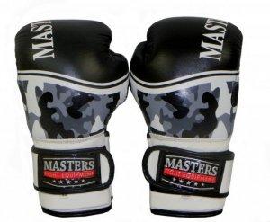 Rękawice bokserskie skórzane RBT-M CAMOUFLAGE 12 oz -skóra naturalna