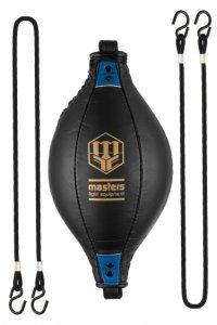Piłka refleksowa na gumach D-BALL SPT-MFE czarno-niebieska