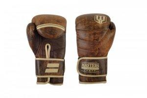 Rękawice bokserskie skórzane MASTERS RBT-VINTAGE