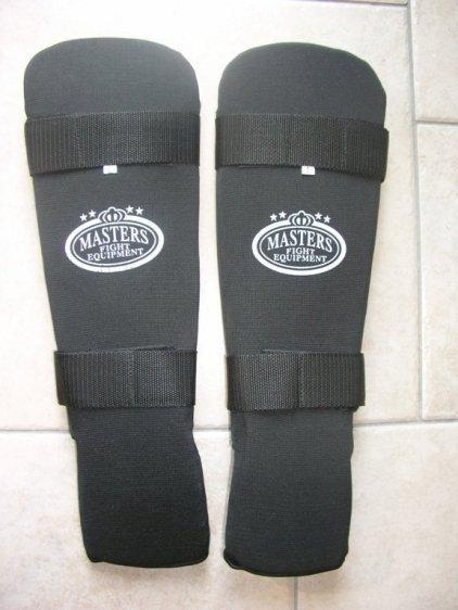 Ochraniacz piszczel stopa Masters NS -B2 elestyczne