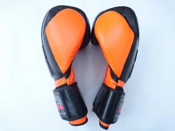 Rękawice bokserskie skórzane V-BOXE RBT-14 oz