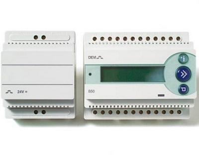 Termostat DEVIreg 850 III z zasilaczem