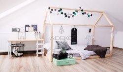 Łóżko drewniane Mila NM 80x140cm