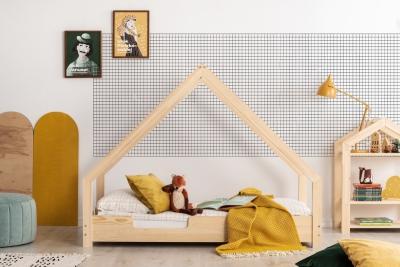 Loca C 70x150cm Łóżko dziecięce drewniane ADEKO