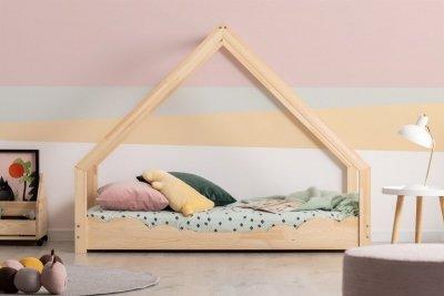 Loca D 80x150cm Łóżko dziecięce drewniane ADEKO
