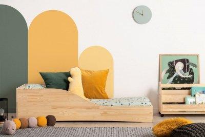 PEPE 3 90x180cm Łóżko drewniane dziecięce