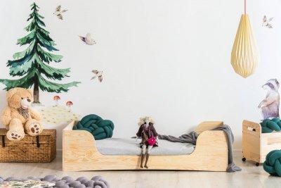 PEPE 6 100x200cm Łóżko drewniane dziecięce