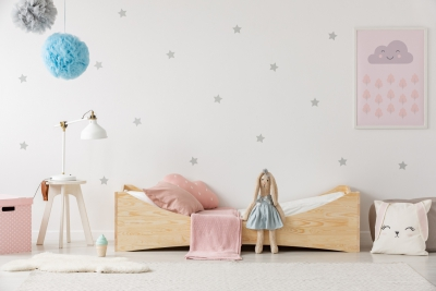 BOX 3 100x200cm Łóżko drewniane dziecięce