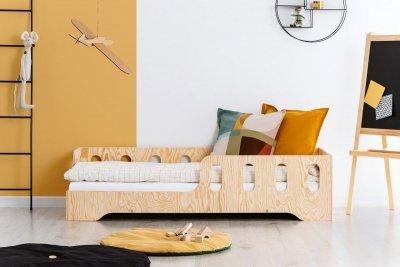 KIKI 1 - L  80x200cm Łóżko dziecięce drewniane ADEKO