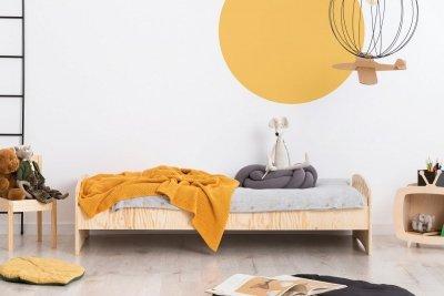 KIKI 11  80x170cm Łóżko dziecięce drewniane ADEKO