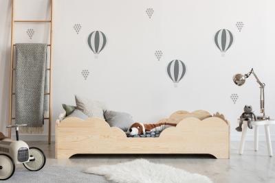 BOX 10 100x200cm Łóżko drewniane dziecięce