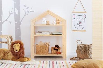 RGM 40x60cm Regał dziecięcy domek ADEKO