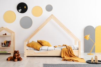 Loca A 80x170cm Łóżko dziecięce drewniane ADEKO