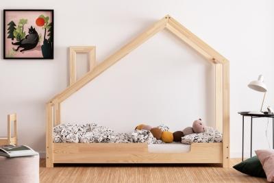 Luna C 80x150cm Łóżko dziecięce drewniane ADEKO