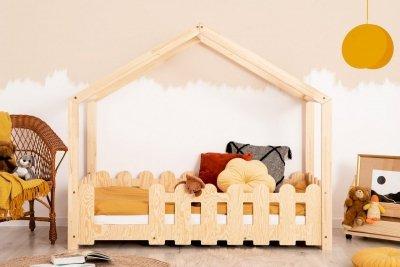 ZIZI B 70x180cm Łóżko dziecięce domek ADEKO