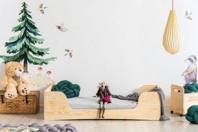 PEPE 6 80x180cm Łóżko drewniane dziecięce