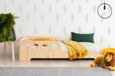 KIKI 16  90x150cm Łóżko dziecięce drewniane ADEKO