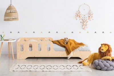 KIKI 6  70x160cm Łóżko dziecięce domek ADEKO