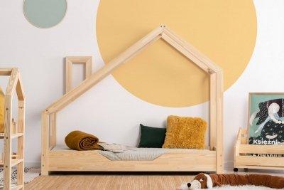 Luna B 80x150cm Łóżko dziecięce drewniane ADEKO
