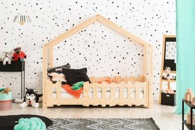 SELO B 80x180cm Łóżko dziecięce domek ADEKO