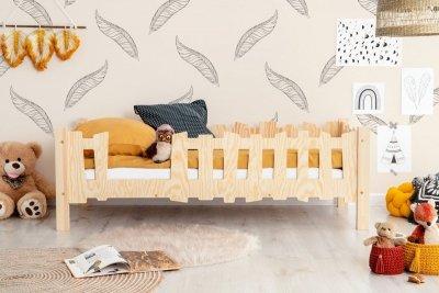 Pikko B 70x160cm Łóżko dziecięce domek ADEKO