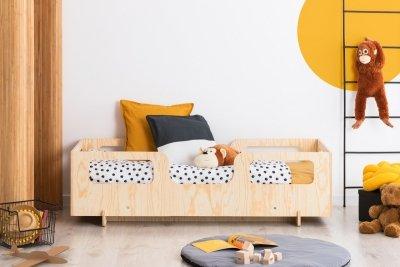 KIKI 17  80x150cm Łóżko dziecięce drewniane ADEKO