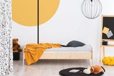 KIKI 9  90x150cm Łóżko dziecięce drewniane ADEKO