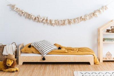 KIKI 2  80x150cm Łóżko dziecięce drewniane ADEKO