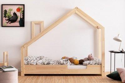 Luna C 70x200cm Łóżko dziecięce drewniane ADEKO