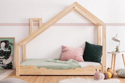 Luna D 70x150cm Łóżko dziecięce drewniane ADEKO