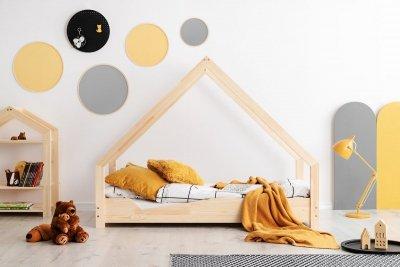 Loca A 80x150cm Łóżko dziecięce drewniane ADEKO