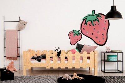 OLAF B 70x180cm Łóżko dziecięce domek ADEKO