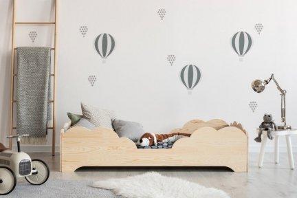 BOX 10 70x140cm Łóżko drewniane dziecięce