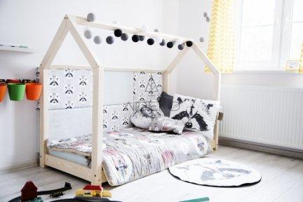 Łóżko drewniane Mila M 120x190cm