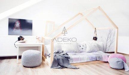 Łóżko drewniane Mila DM 90x140cm