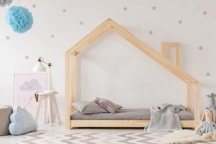 DMS 120x190cm Łóżko dziecięce domek Mila ADEKO