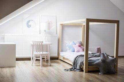 Łóżko drewniane Mila KM 80x160cm
