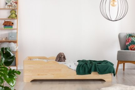 BOX 11 90x180cm Łóżko drewniane dziecięce