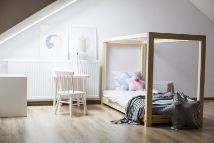 Łóżko dziecięce domek Mila KM 140x190cm ADEKO