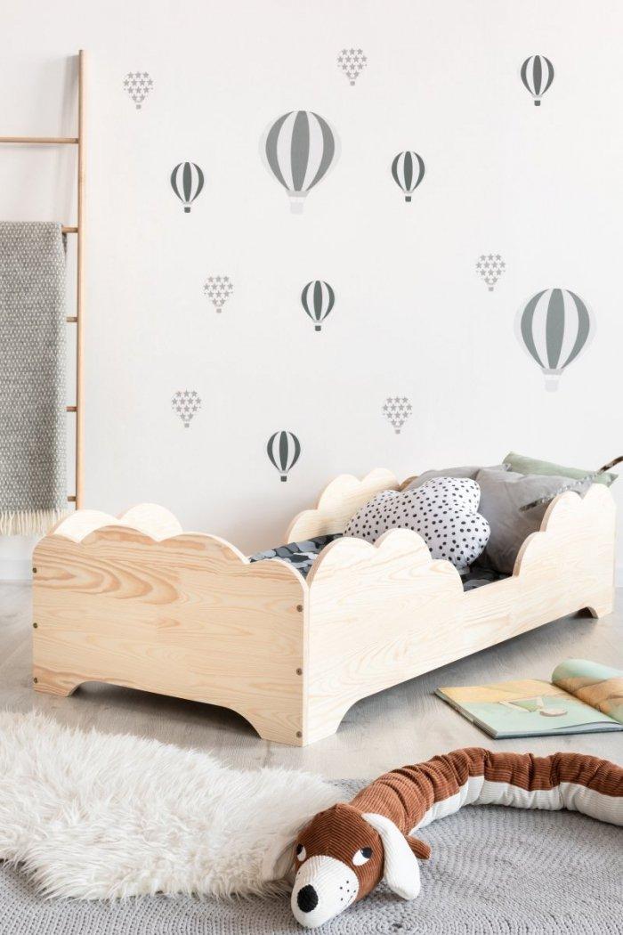 BOX 10 90x200cm Łóżko drewniane dziecięce