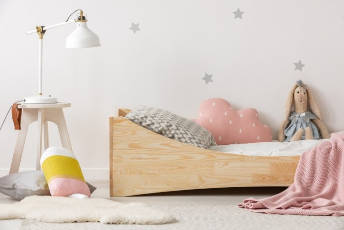 BOX 3 70x140cm Łóżko drewniane