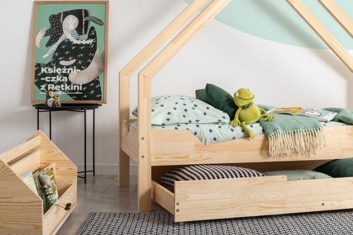 Loca A 100x180cm Łóżko dziecięce drewniane ADEKO