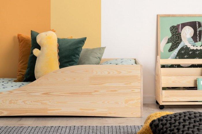 PEPE 3 90x170cm Łóżko drewniane dziecięce