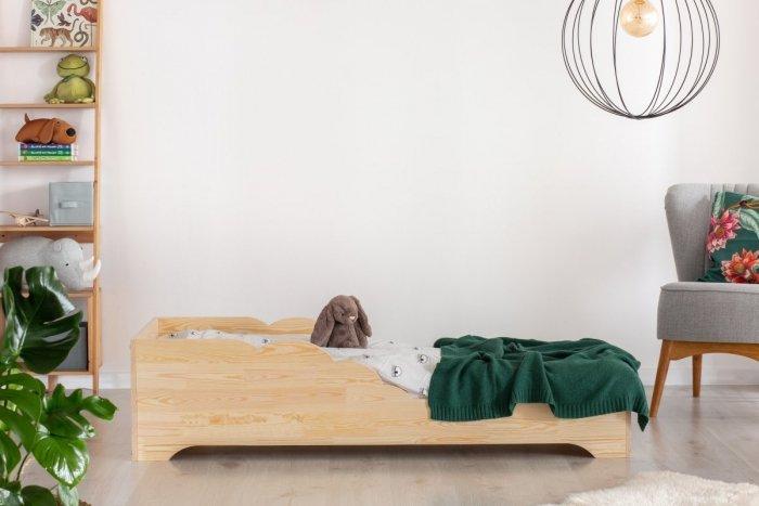 BOX 11 80x140cm Łóżko drewniane dziecięce