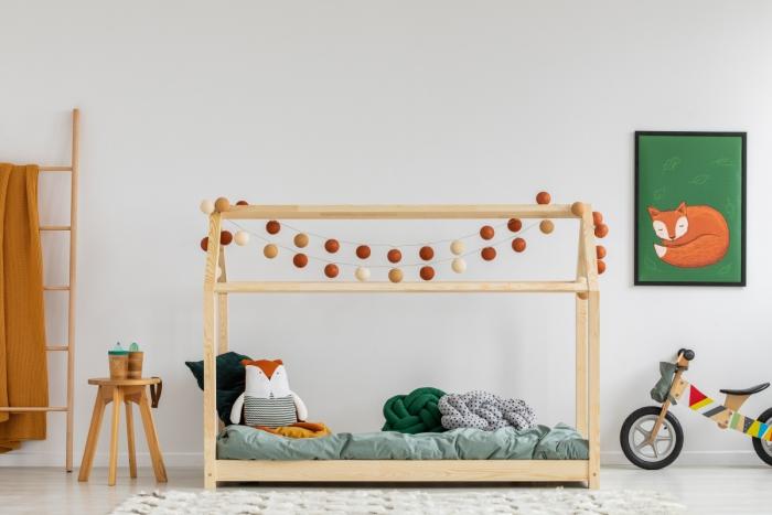 Mila MM 70x160cm Łóżko dziecięce domek Mila ADEKO