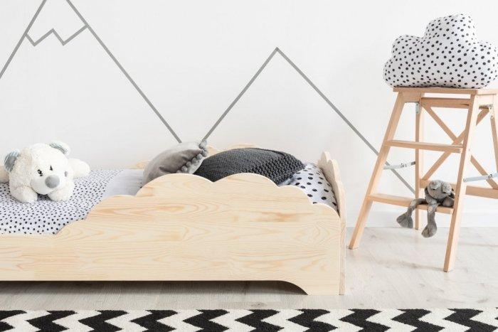 BOX 9 80x170cm Łóżko drewniane dziecięce