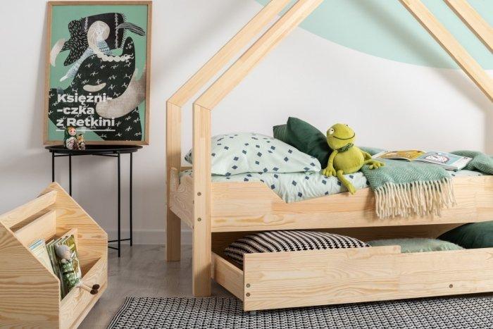 Loca A 80x140cm Łóżko dziecięce drewniane ADEKO
