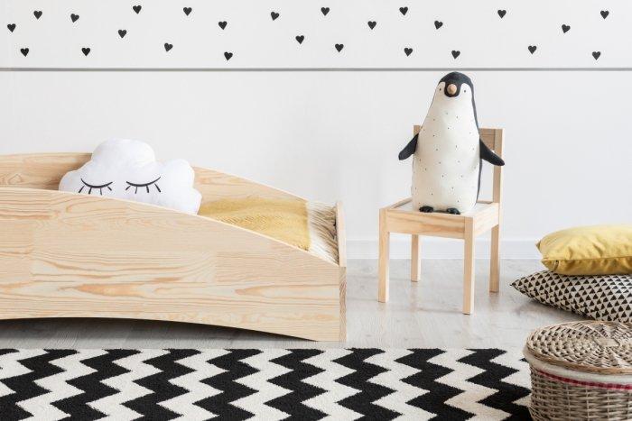 BOX 6 70x160cm Łóżko drewniane dziecięce